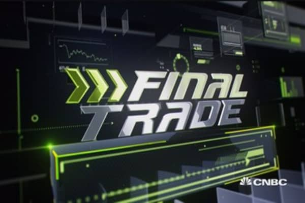 Fast Money Final Trade: P, LB, XLF & JUNO