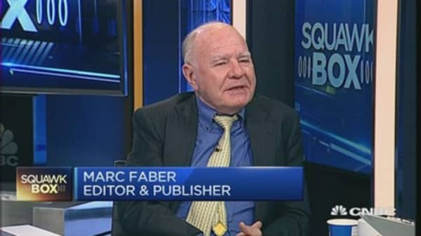 6% growth in China? 'You must be joking': Faber