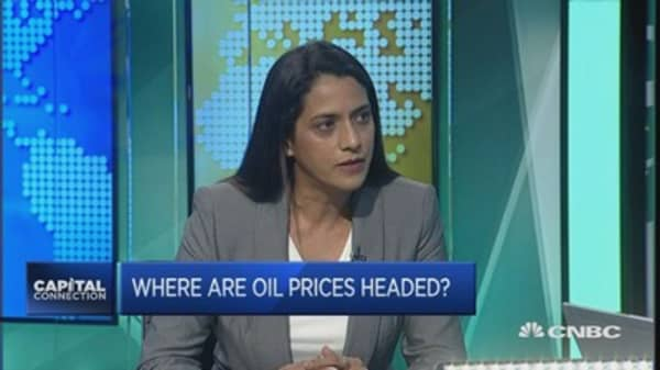 Oil prices get 'reality check': Platts
