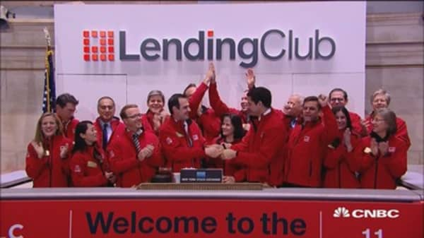 LendingClub's disruptive model