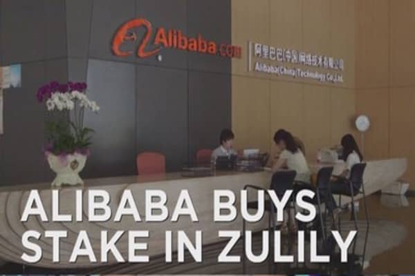 Alibaba buys stake in Zulily