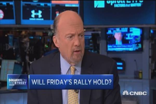 Cramer: No news=good news rally coming