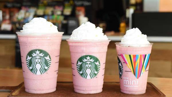 Starbuck's Mini Frappuccino (right)