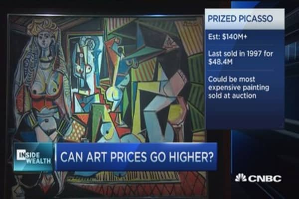 Picasso painting could smash world records