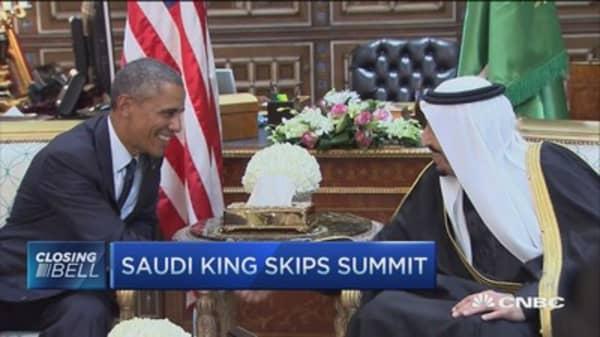 Saudi King snubs Obama