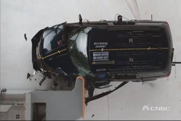 Crash test realities: Midsize SUVs