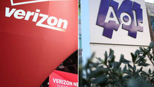 Verizon to buy AOL for $4.4 billion.