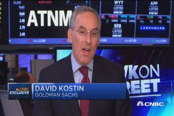 Kostin: Cyclicals & lower valuation good strategy for environment