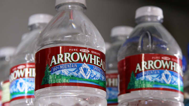 Ban Bottled Water Industry Scrutinized In Parched California