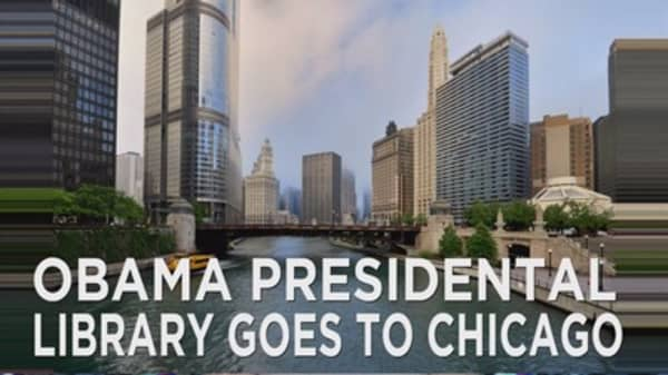 Obama Pres Library to open in Chicago