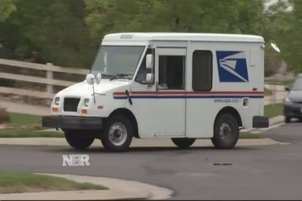 Postal Service package push