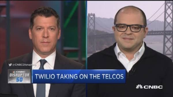 Disruptor Twilio takes on telcos
