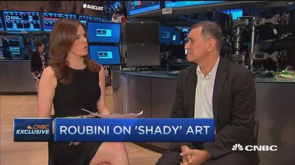 Roubini: Art indicative of high asset prices