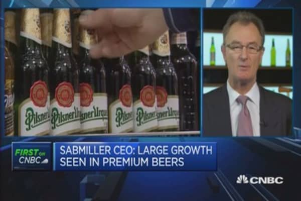 Seeing fragility in developed markets: SABMiller CEO