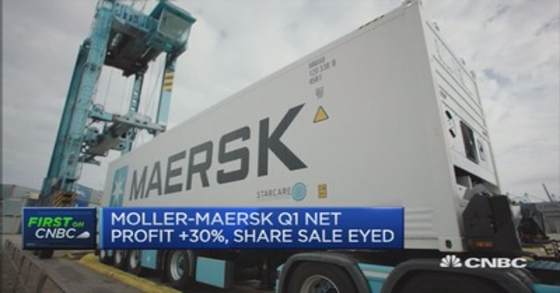 Reducing costs due to low oil prices: Moller Maersk CEO