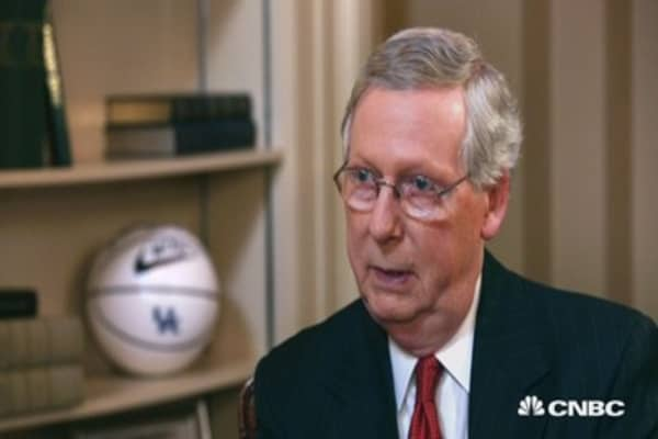 Mitch McConnell: Helping Obama fight energy on the left