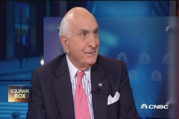 Langone:  What has Bill Clinton done for charity?