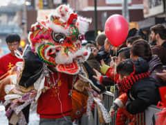 Chinatown New Year Chinese