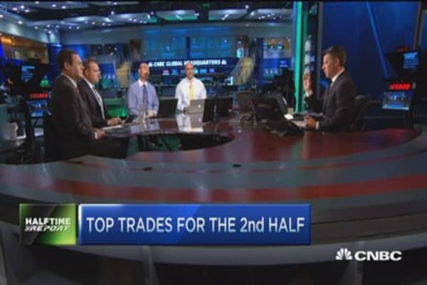 Top trades for the 2nd half: JCP, CSCO & SHAK