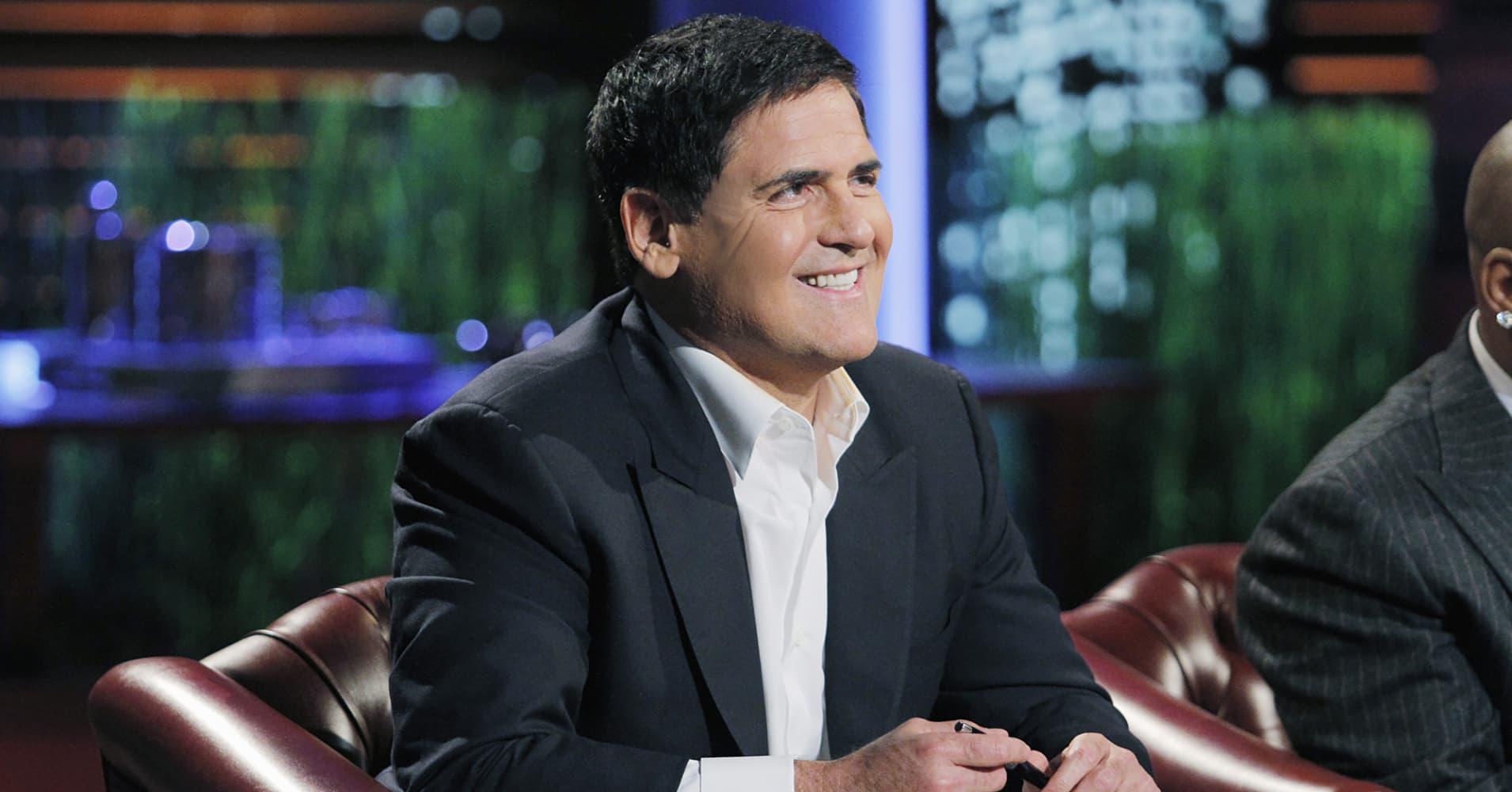 Mark Cuban smiling