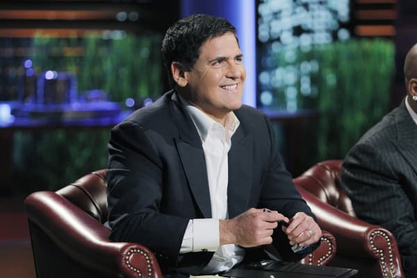 Mark Cuban smiling