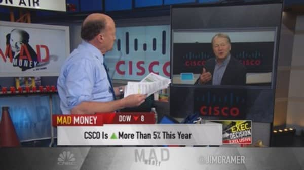 Chambers: Cisco in most competitive position ever