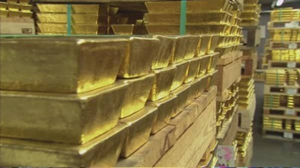 Demand for gold continues to fall