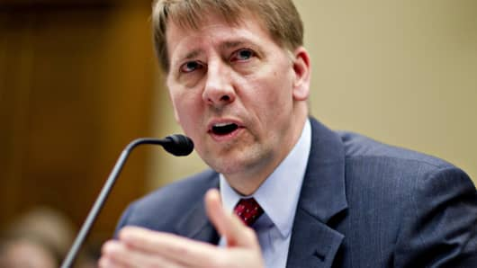 Richard Cordray, director of the U.S. Consumer Financial Protection Bureau (CFPB).