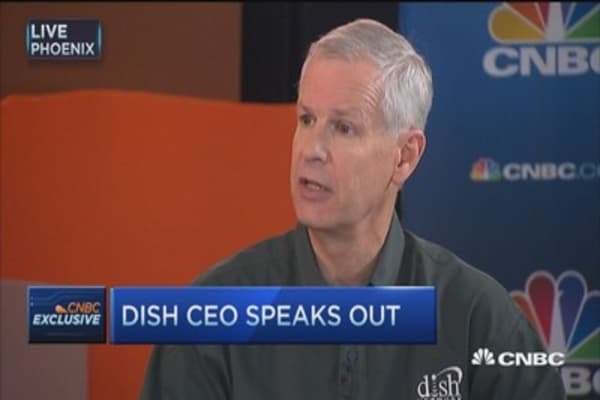 Dish CEO: AT&T will be a tougher competitor