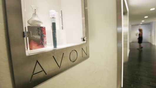 Avon headquarters in New York.