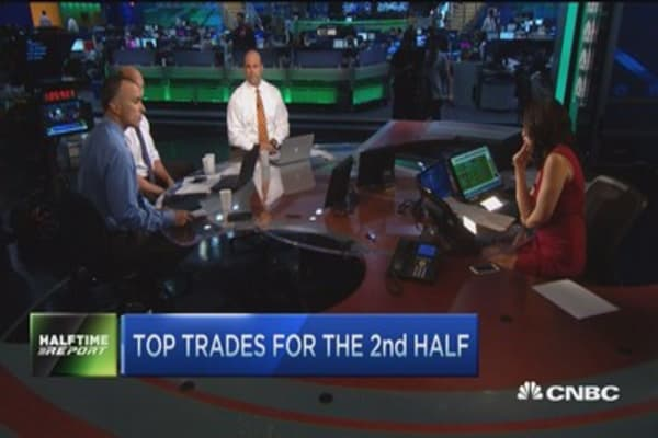 Top trades for the 2nd half: AMAT, UPS & XLK