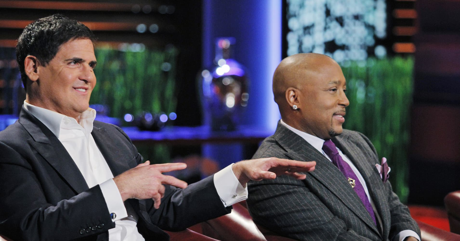 Mark Cuban and Daymond John on 'Shark Tank'
