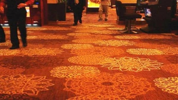 What happens to old casino carpet?