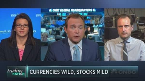 Will macro volatility bleed into stocks?