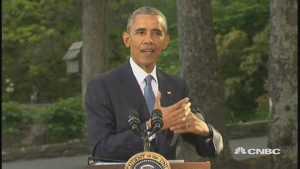 Pres. Obama thanks Senate for passing trade bill