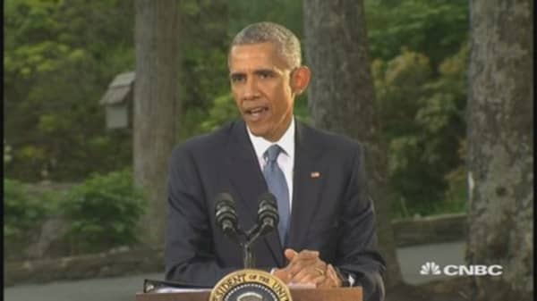 Pres. Obama: We'll work together to solve conflicts