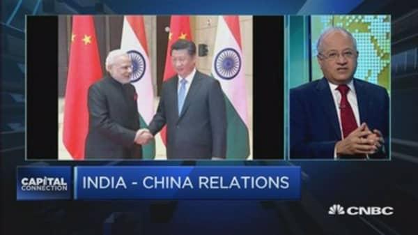 Politics vs economics: Modi's agenda in China