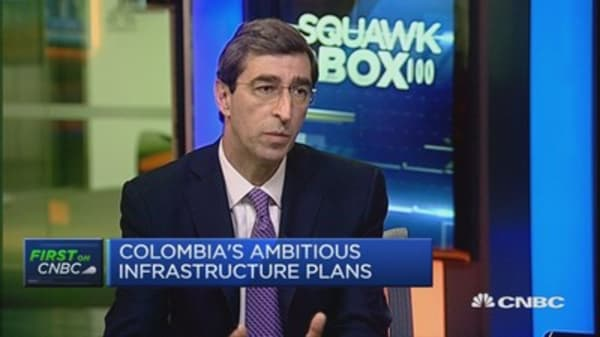 Still hard to differentiate Colombia: CEO