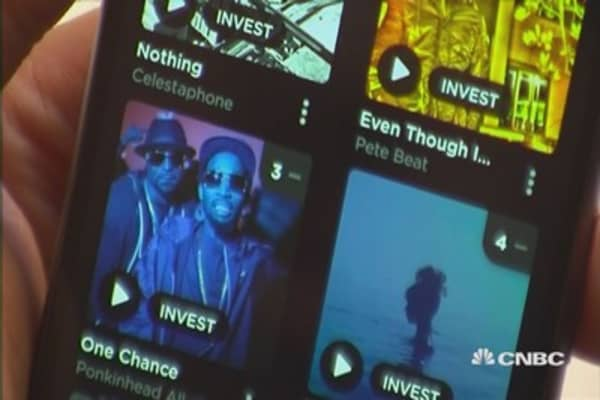 Music-streaming app works like a stock market