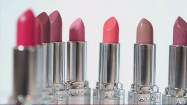 Avon shares soar after fake bid