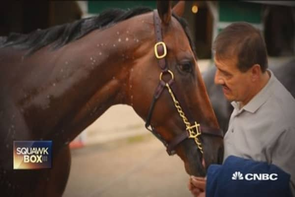 How much is American Pharoah worth?