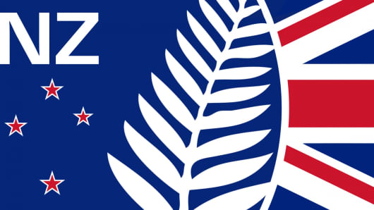 """Kia Ora"" ('This respectful / contemporary flag design / evolution / rebrand is bold, strong and immediately identifiable.')"