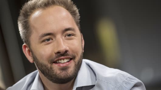 Dropbox CEO and co-founder Drew Houston