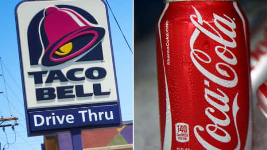 Taco Bell and Coca-Cola