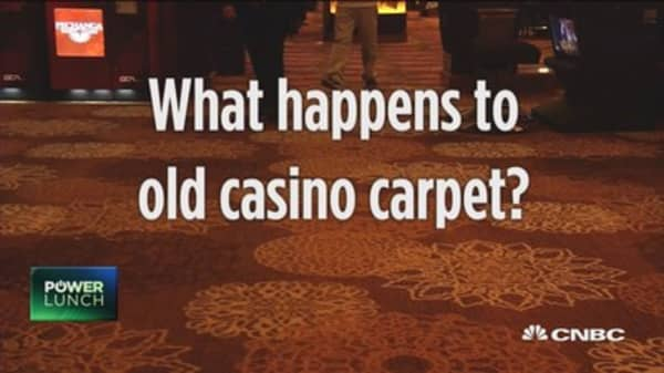 What you didn't know about carpets at casinos
