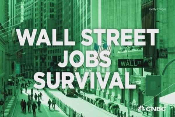 Wall street jobs survival