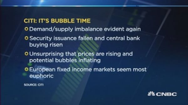 European bonds look the most bubbly: Strategist