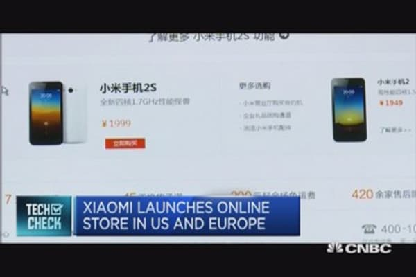 Xiaomi heads to western markets