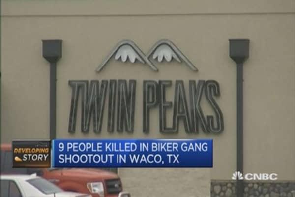 Over 100 arrests in biker gang shootout