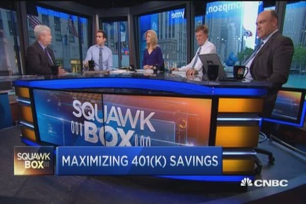 Changing 401(k) investment behaviors